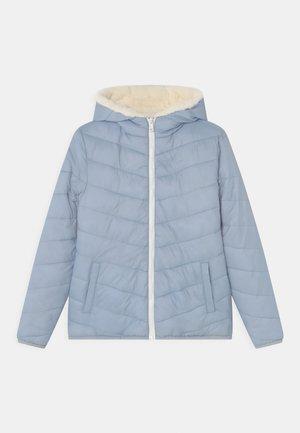 Vinterjakke - light blue