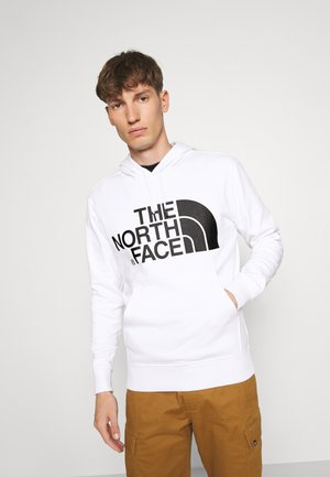 STANDARD HOODIE - Bluza z kapturem - white