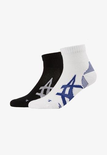 CUSHIONING SOCK 2 PACK  - Sports socks - performance black/brilliant white