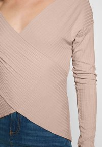 Nly by Nelly - CRISS CROSS SHOULDER - Long sleeved top - mauve - 5