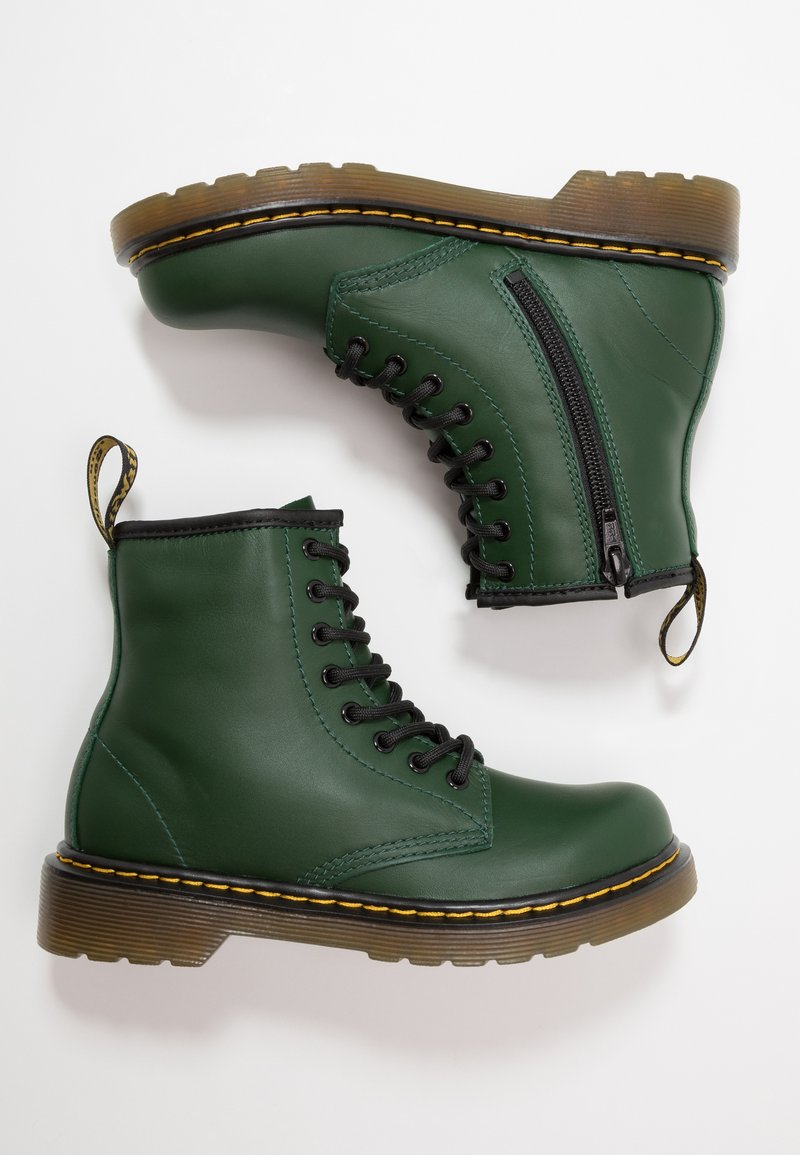Dr. Martens - 1460 ROMARIO - Lace-up ankle boots - green