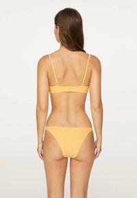 OYSHO - GINGHAM  - Bikinibroekje - yellow - 2