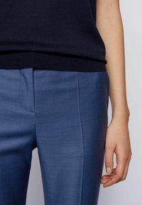 BOSS - TITANA - Pantaloni - blue - 3