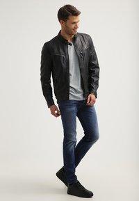 Gipsy - COBY - Leather jacket - schwarz - 1