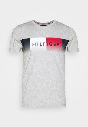 TH COOL  - Print T-shirt - grey