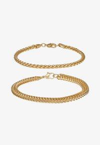 Topman - CHAIN 2 PACK - Bracelet - gold-coloured - 3