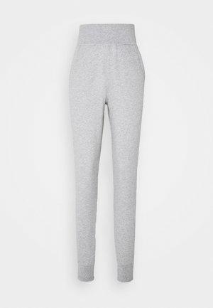 MIKA PANTS - Teplákové kalhoty - light grey melange