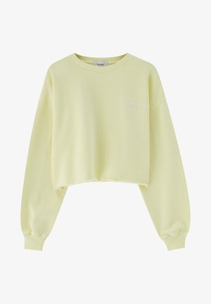 Sweatshirt - yellow