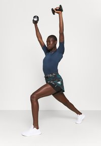 adidas Performance - trikot na gymnastiku - crew navy/white - 1