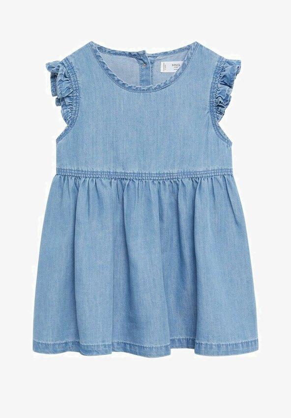 Mango - Denim dress - bleu clair
