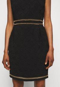 MOSCHINO - DRESS - Etui-jurk - black - 5