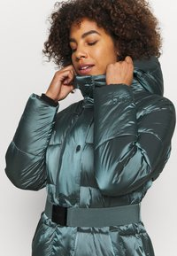 DKNY - BELTED PUFFER - Training jacket - blue - 3