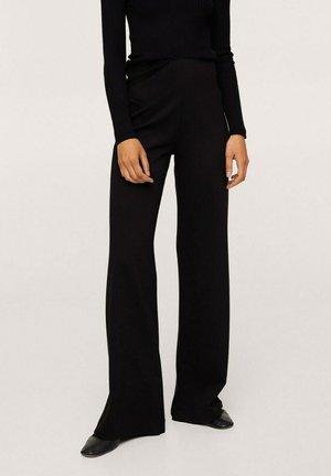 PLANITO - Trousers - zwart