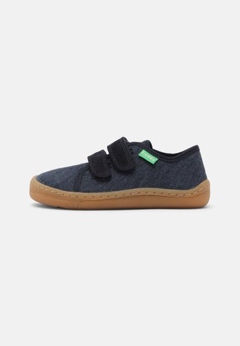 BAREFOOT - Touch-strap shoes - dark blue