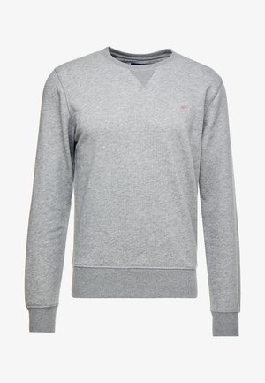 THE ORIGINAL C NECK  - Sudadera - dark grey melange