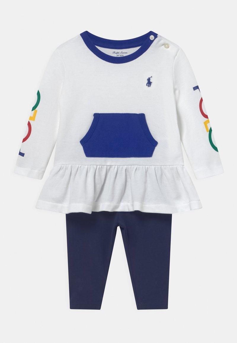 Polo Ralph Lauren - SET - Leggings - Trousers - french navy/multi-coloured