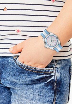 Watch - blue/white