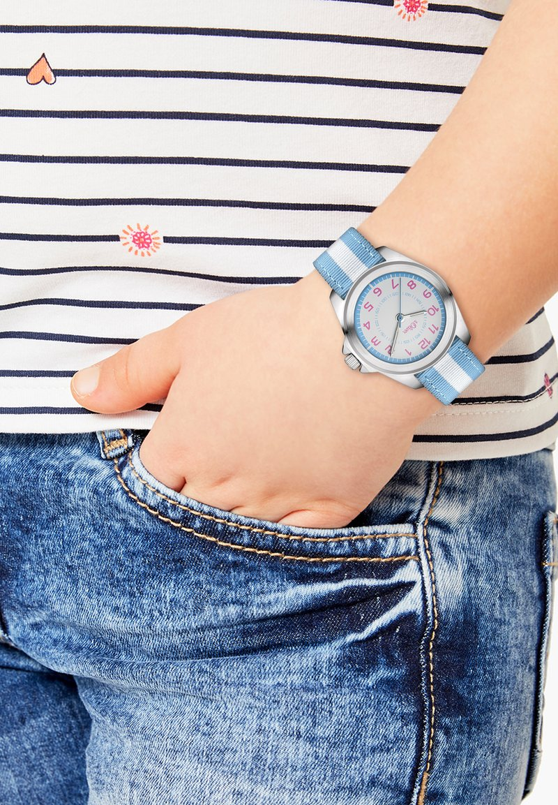 s.Oliver - Watch - blue/white