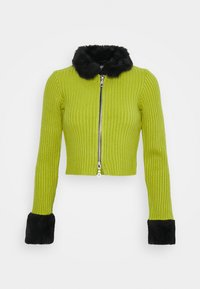The Ragged Priest - LATE CARDI - Vest - lime/black - 4
