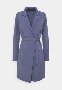 Missguided Tall - BASIC WRAP BLAZER DRESS - Day dress - blue - 0