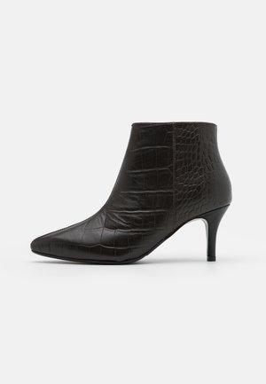 SLFHARPER - Ankelstøvler - black