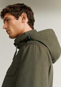 Mango - ARMY - Light jacket - khaki - 4