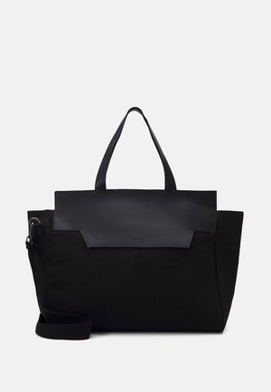 UNISEX LEATHER - Weekendveske - black