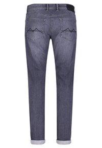 MAC Jeans - MACFLEXX GRAUTÖNE - Slim fit jeans - authentic dark grey - 3