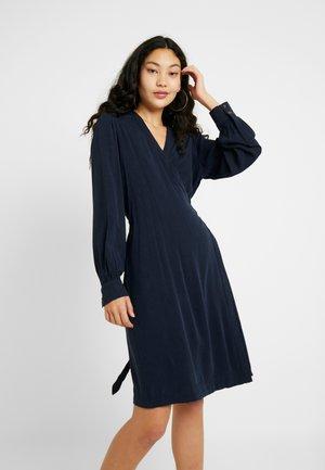SLFMILJA ALVA WRAP DRESS - Day dress - dark sapphire