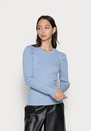 SLFISLA O NECK  - Trui - brunnera blue