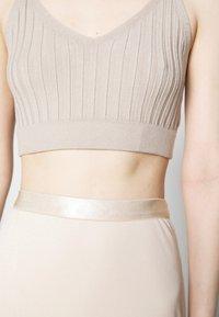 Filippa K - VIOLA SKIRT - A-line skirt - soft beige - 5