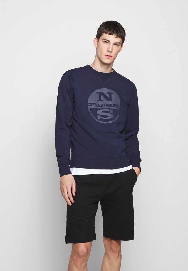 Sweatshirt - navy blue