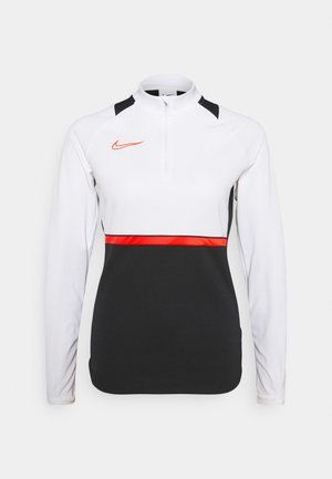 ACADEMY 21 - Sweatshirt - black/bright crimson