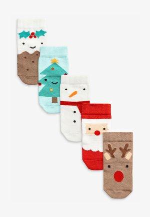 5 PACK CHRISTMAS CHARACTER - Socks - multi-coloured