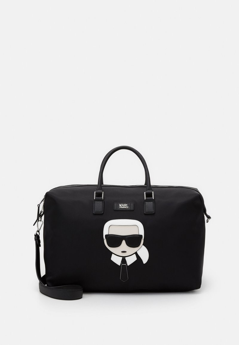 KARL LAGERFELD - K/IKONIK  - Sac week-end - black