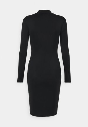 SPY DRESS - Shift dress - black