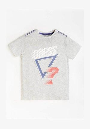 LOGO FRONTPRINT - T-shirt print - hellgrau