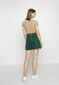 ONLY - ONLLINEA BONDED - A-line skirt - pine grove - 2