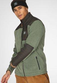 Protest - ADAM - Fleece jacket - green spray - 3