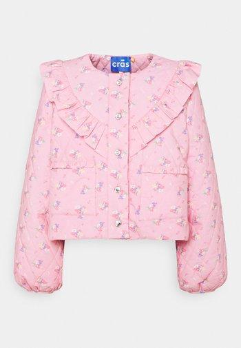 FLEUR JACKET - Light jacket - pink