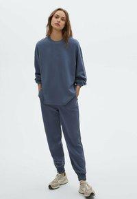 Massimo Dutti - Pantalon de survêtement - dark blue - 1