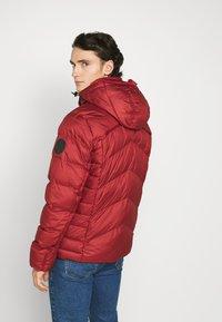 G-Star - WHISTLER PUFFER - Winter jacket - dry red - 2
