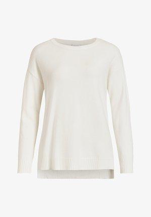 Sweter - white alyssum