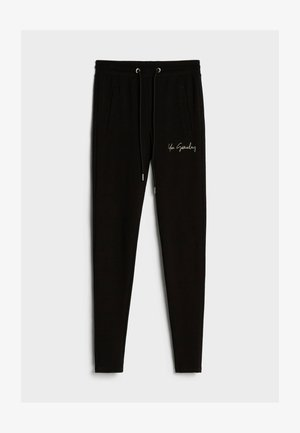 AUS PLÜSCH - Leggings - Trousers - black