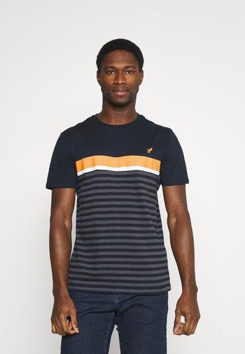 T-shirt print - dark blue/dark grey