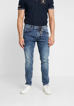 CONROY CROSS - Jeans Tapered Fit - vintage stone wash denim blue