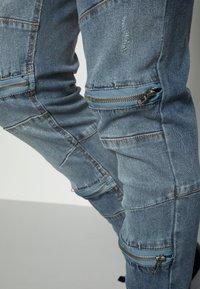 Brave Soul - ELBA - Jeans slim fit - blue - 4