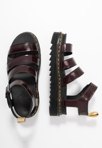 Dr. Martens - BLAIRE - Platform sandals - cherry red oxford - 1