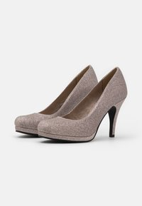Tamaris - COURT SHOE - Zapatos altos - space glam - 2
