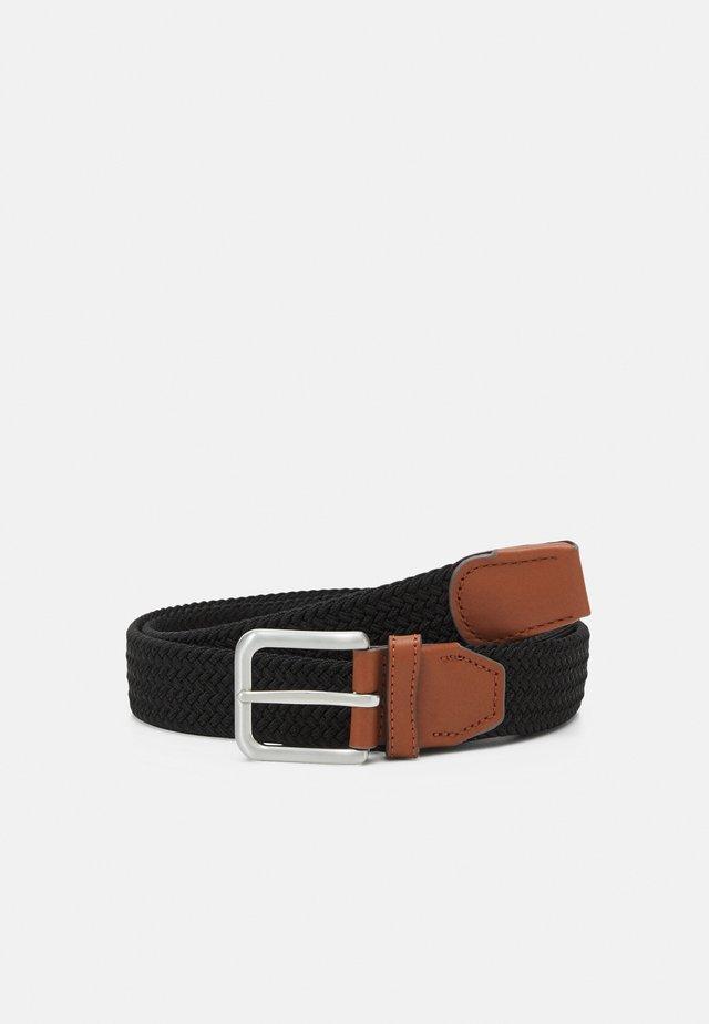 JACSPRING BELT - Cintura intrecciata - anthracite